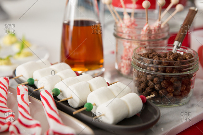 Festive treats and chocolate cereal