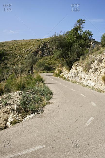 Road, Majorca, Spain