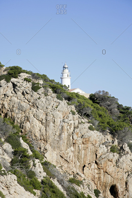 Lighthouse, Cala Ratjada, Mallorca, Spain