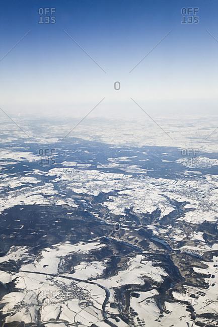 Aerial View of North Rhine-Westphalia, Germany