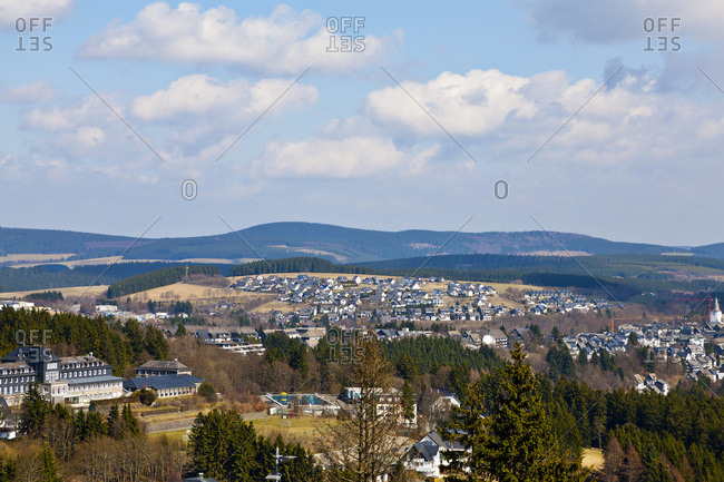 Winterberg, Hochsauerland, North Rhine-Westphalia, Germany