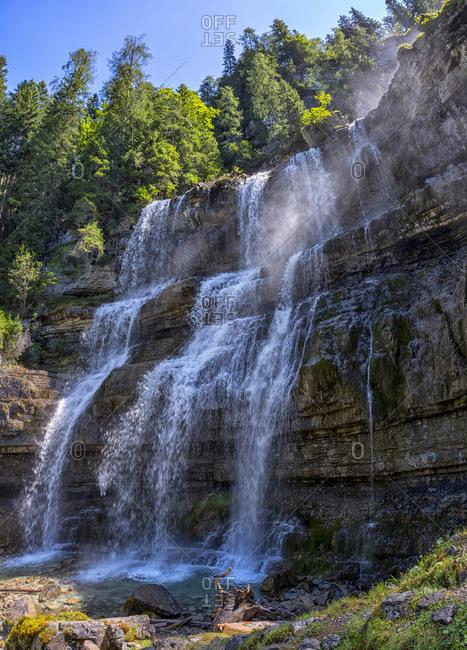 Italy- Trenton- Rendena valley- Vallesinella Waterfalls
