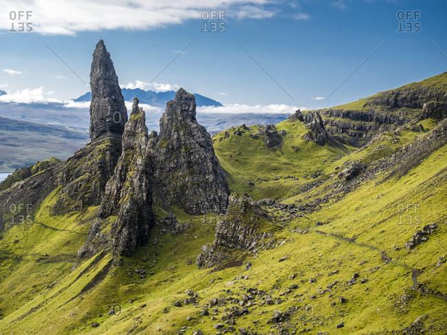 Great Britain- Scotland- Isle of Skye- The Storrs