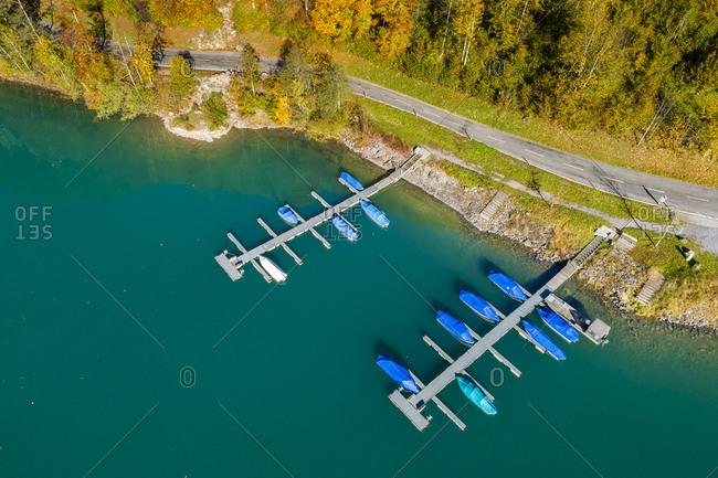 Switzerland- Canton of Glarus- Kloen Valley- Lake Kloentalersee