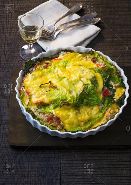 Savoy casserole
