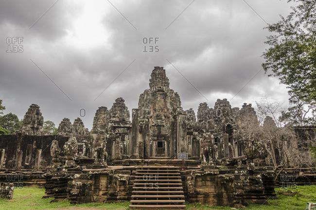 Siem Reap, Cambodia - June 25, 2015: Angkor Thom