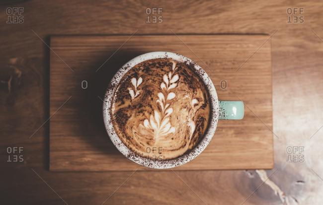 Pretty latte art