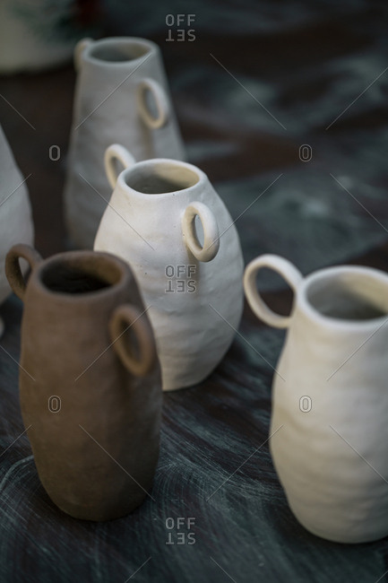 Image of clay pots