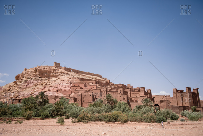 Village of Ait-Ben-Haddou in Morocco