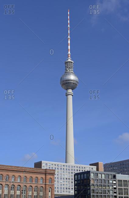 Berlin, Germany - March 26, 2017: Berlin TV Tower