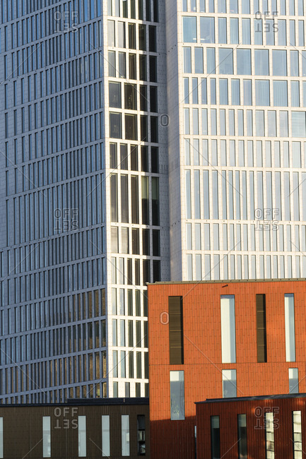 Office buildings in Malmo, Sweden