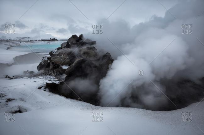 Classic Icelandic steams, Hverir, Iceland