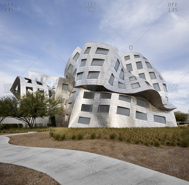 Las Vegas, NV - December 25, 2016: Lou Ruvo Center for Brain Health
