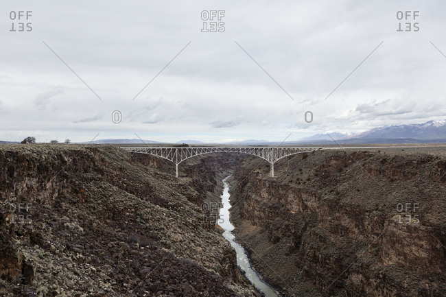 Rio Grande Gorge Bridge near Taos, New Mexico
