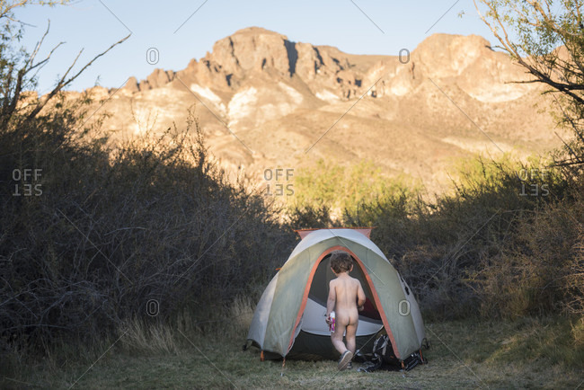 Naked girls camping nude tents-4422