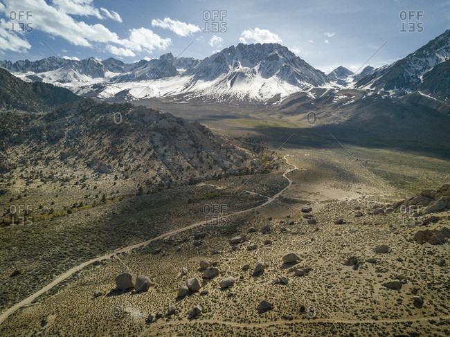 Bishop mountain during daytime, California, USA