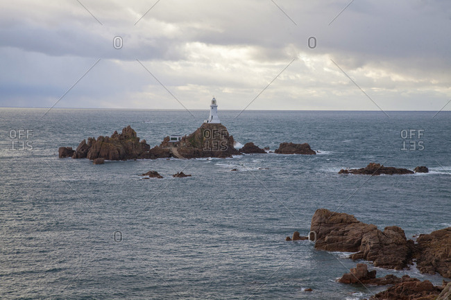 La Corbiere Lighthouse, Jersey Islands, United Kingdom