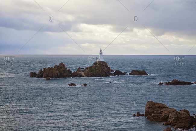 Lighthouse at Jersey Islands, United Kingdom