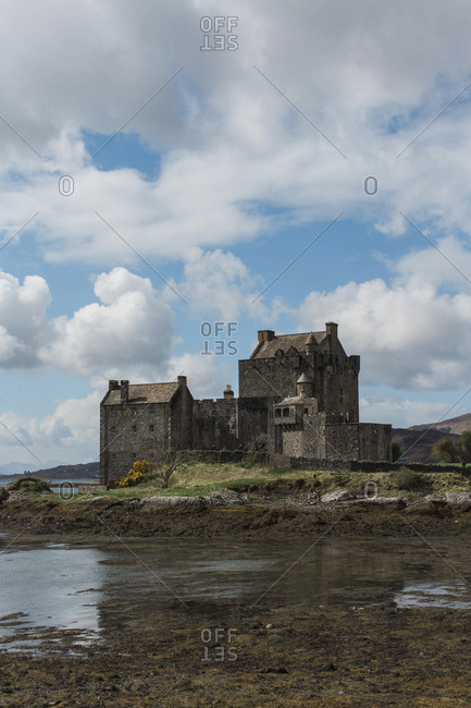 The Eilean Donan Castle near the Isle of Skye, Scotland