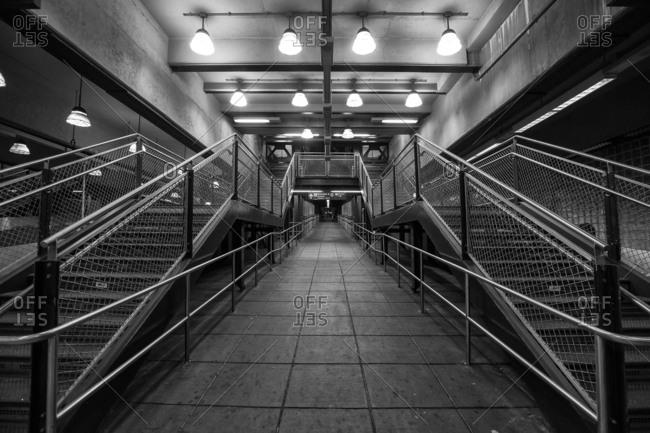 ... New York   September 19, 2016: Coney Island Stillwell Avenue Subway