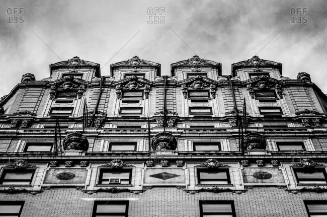 New York City, New York - November 2, 2016: Paramount Hotel exterior