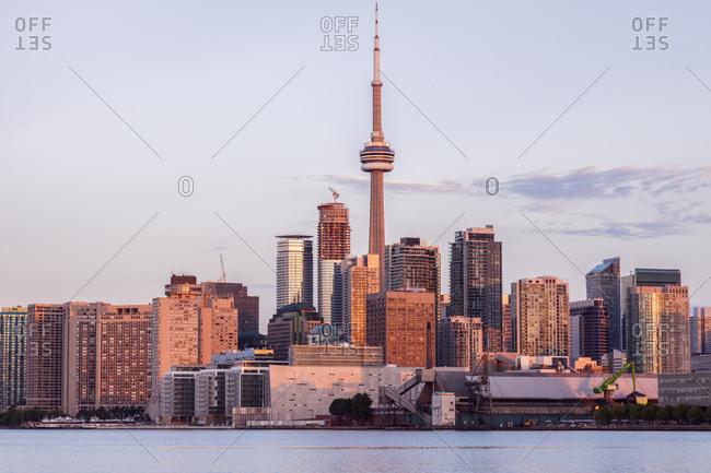Canada, Ontario, Toronto - January 3, 2016: Canada, Ontario, Toronto, Waterfront of Toronto