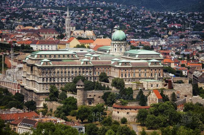 Hungary- Budapest- Buda Castle - Offset