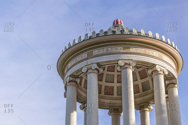 Germany- Munich- English Garden- Monopteros- cupola