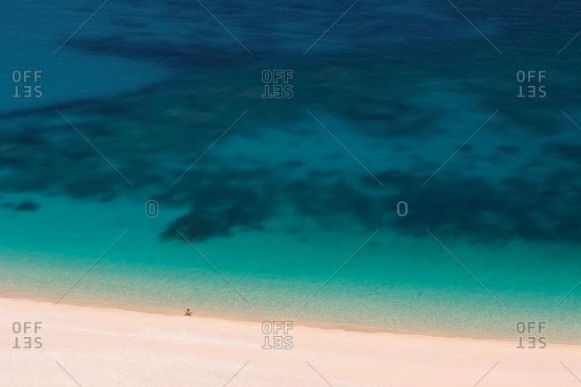 Myrtos beach, Kefalonia, Cefalonia, Greece
