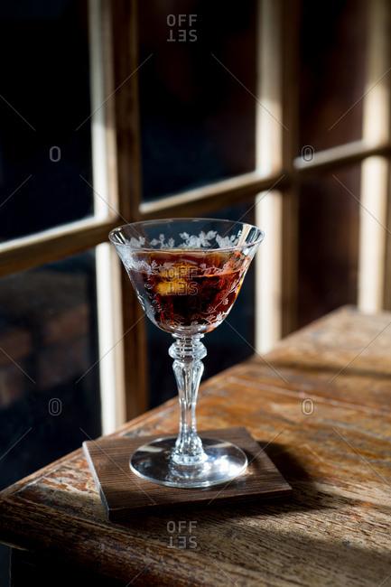 Martini aperitif