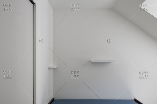 Interior wall in modern building
