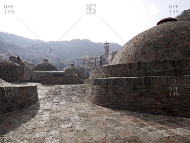 Georgia- Tbilissi- Abanotubani- Sulphur Bath- cupola