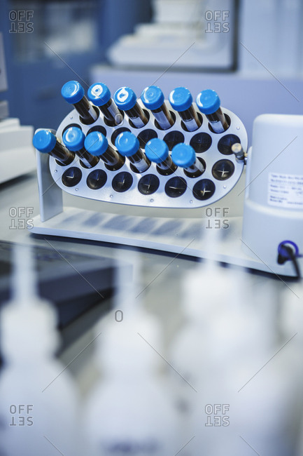Test tubes in lab