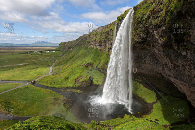 Seljalandsfoss waterfall, Iceland, Europe