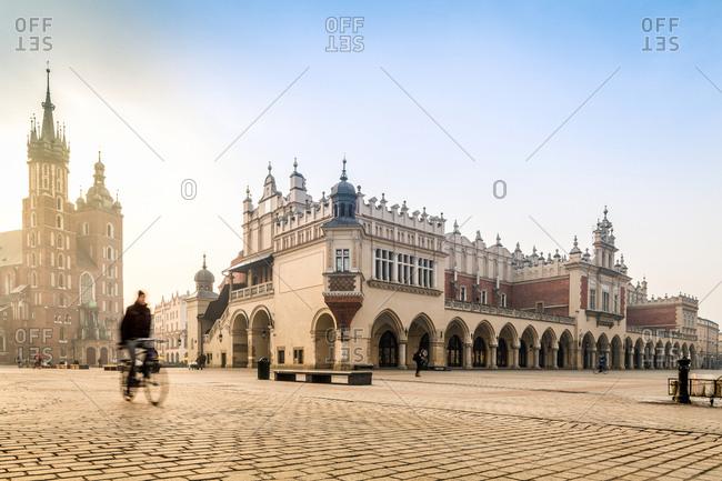 Medieval city center, Krakow, Poland, Europe