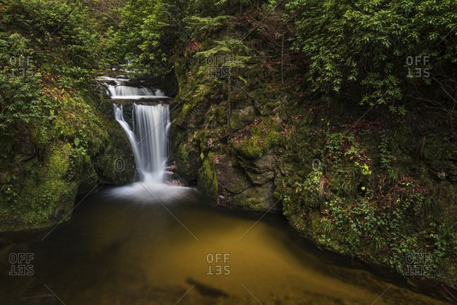 Geroldsauer Wasserfall, Grobbach River, Geroldsau, Baden-Baden, North Black Forest, Baden-Wurttemberg, Germany, Europe