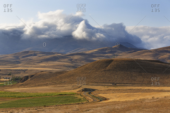 Clouds over the Pontic Mountains, Coruh Valley, Bayburt Province, Black Sea Region, Turkey, Asia