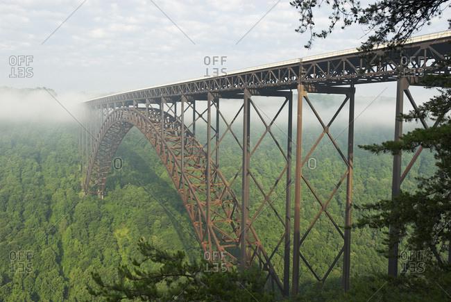 New River Gorge Bridge, Fayette County, West Virginia, United States, North America