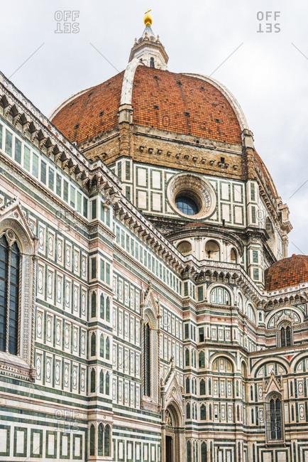 Italy- Tuscany- Florence- Santa Maria del Fiore- facade and cupola