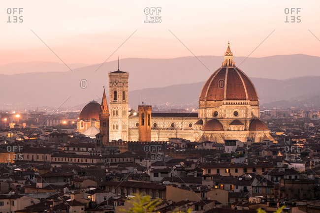 Scenic view, Florence Cathedral, Florence, Italy
