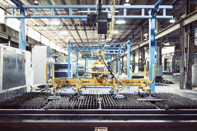 Industrial equipment in steel industry