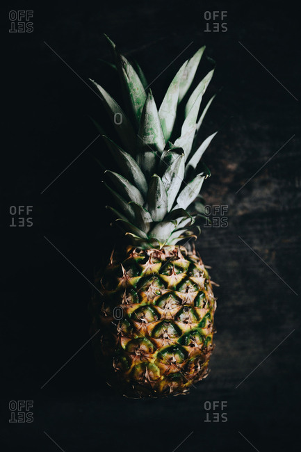 Fresh whole pineapple