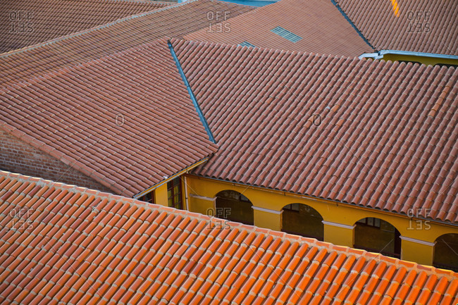 Rooftops in Potosi, mining town on over 4000m altitude in Bolivia