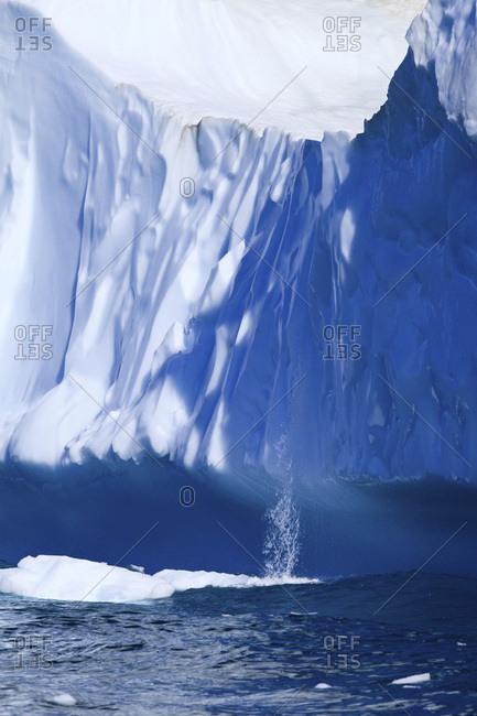 Melting iceberg, Arctic Ocean, Greenland