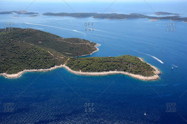 Pakleni Otoci, Archipelago, Adriatic Sea, Dalmatia, Croatia