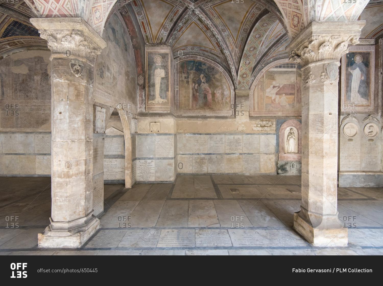Firenze Florence September 7 2017 Cloister Of The