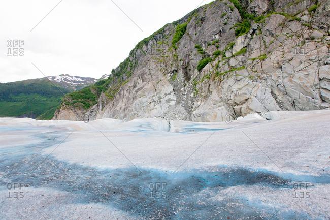 Arctic cliffside in Alaska