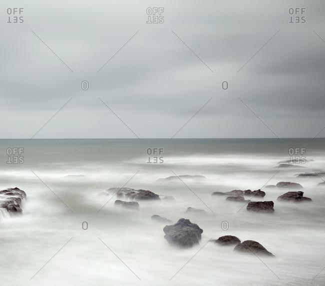 Pacific tide long exposure