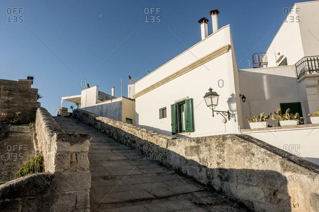 Wandering through the town of Otranto, Italy