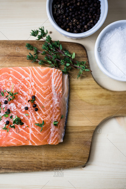 Gravlax ingredients and flavorings